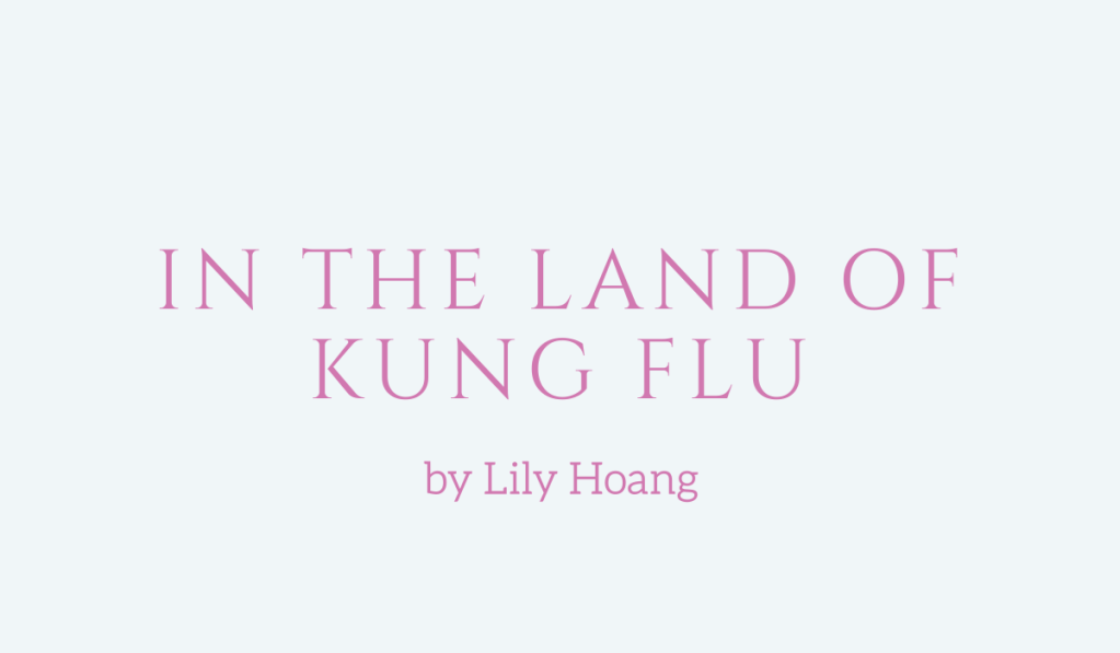 In the Land of Kung Flu, an essay by Lily Hoang